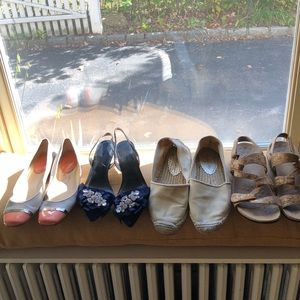 Size 7 shoes-Lilly Pulitzer. Calvin Klein, Ban Rep